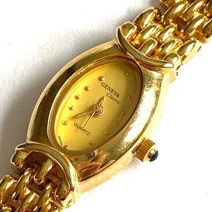 Geneva Classic Gold Watch